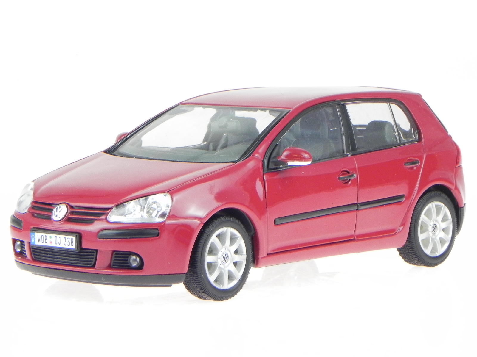 vw golf 5 4 t rer rot modellauto welly 1 24 ebay. Black Bedroom Furniture Sets. Home Design Ideas