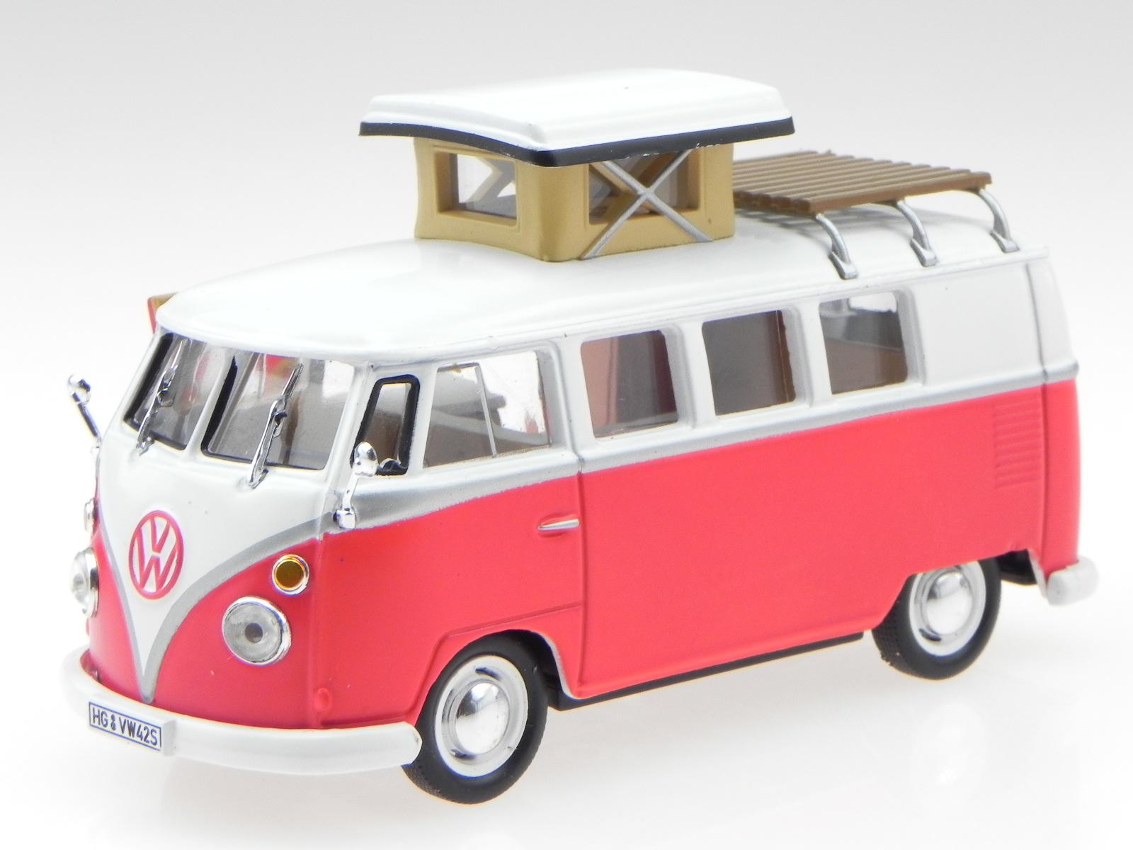 VW Volkswagen Kombi Westfalia SO42 1966  Hachette Ixo 1//43 Scale new