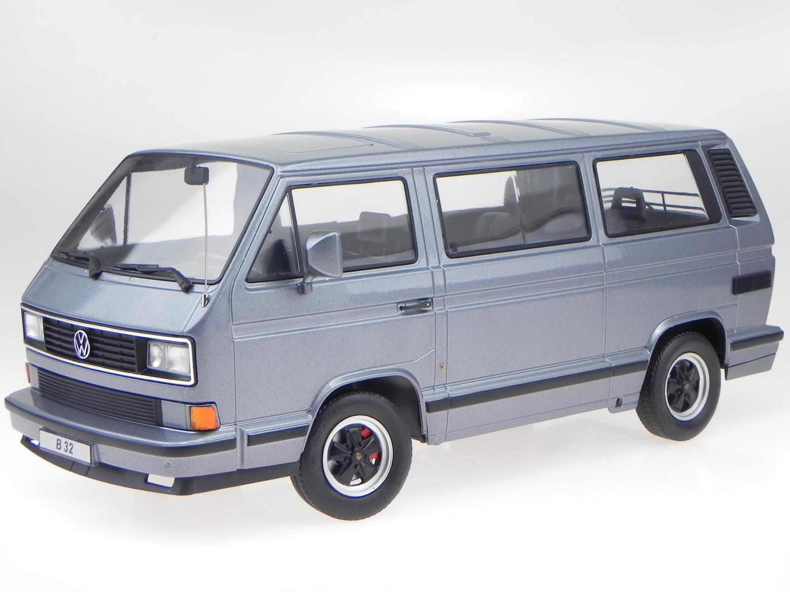 VW T3 B32 Porsche Bus grigio modellino 180221 modellino KK-Scale 1:18