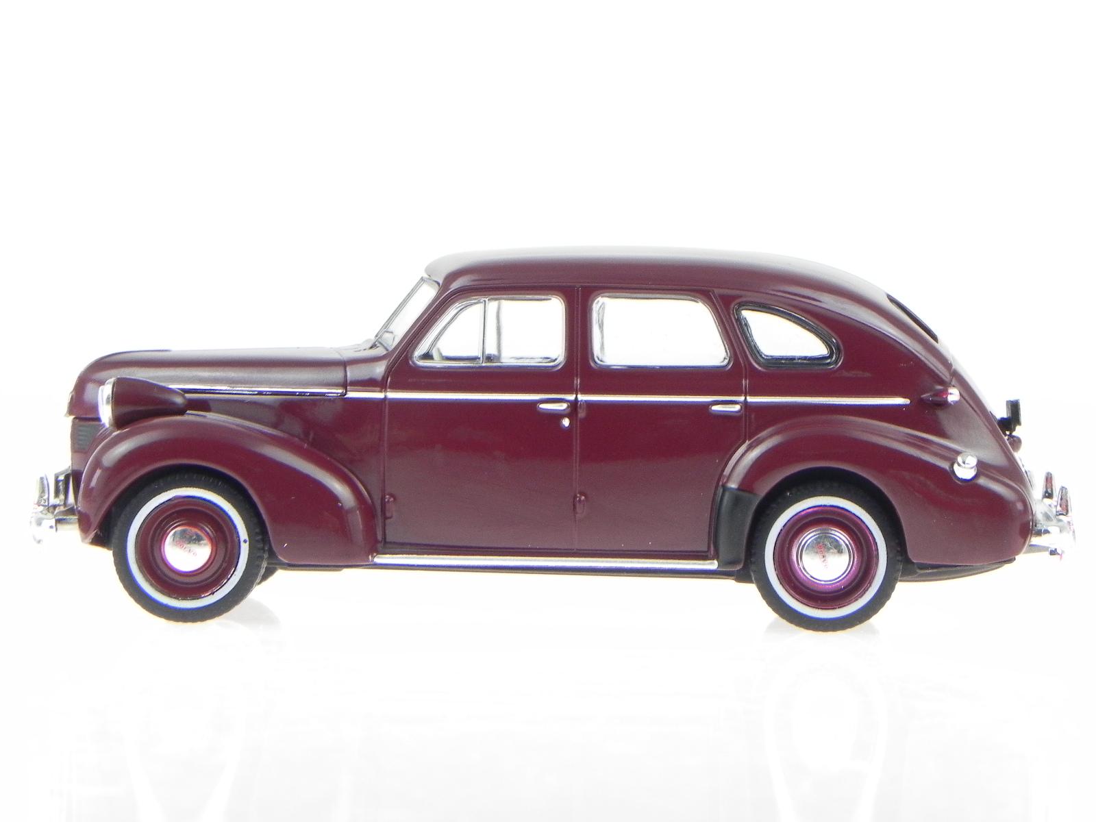 Volvo-PV-60-dark-red-1947-modelcar-PRD436-PremiumX-1-43 thumbnail 2