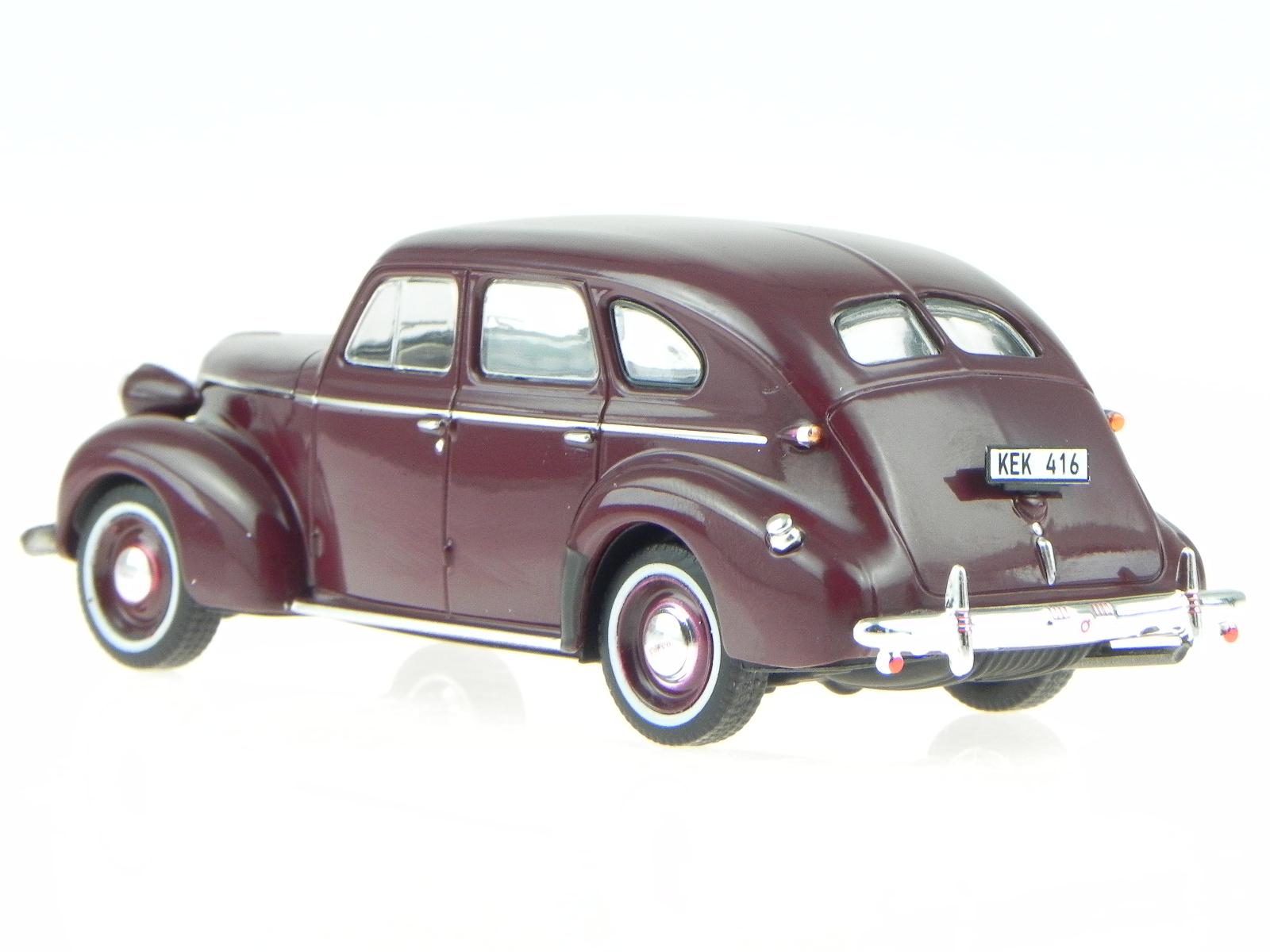 Volvo-PV-60-dark-red-1947-modelcar-PRD436-PremiumX-1-43 thumbnail 3