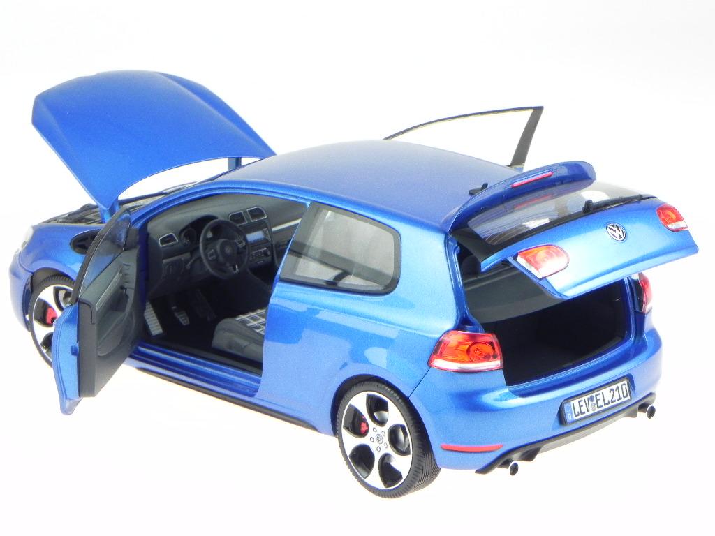 vw golf 6 gti 2009 blau metallic modellauto 188441 norev 1. Black Bedroom Furniture Sets. Home Design Ideas