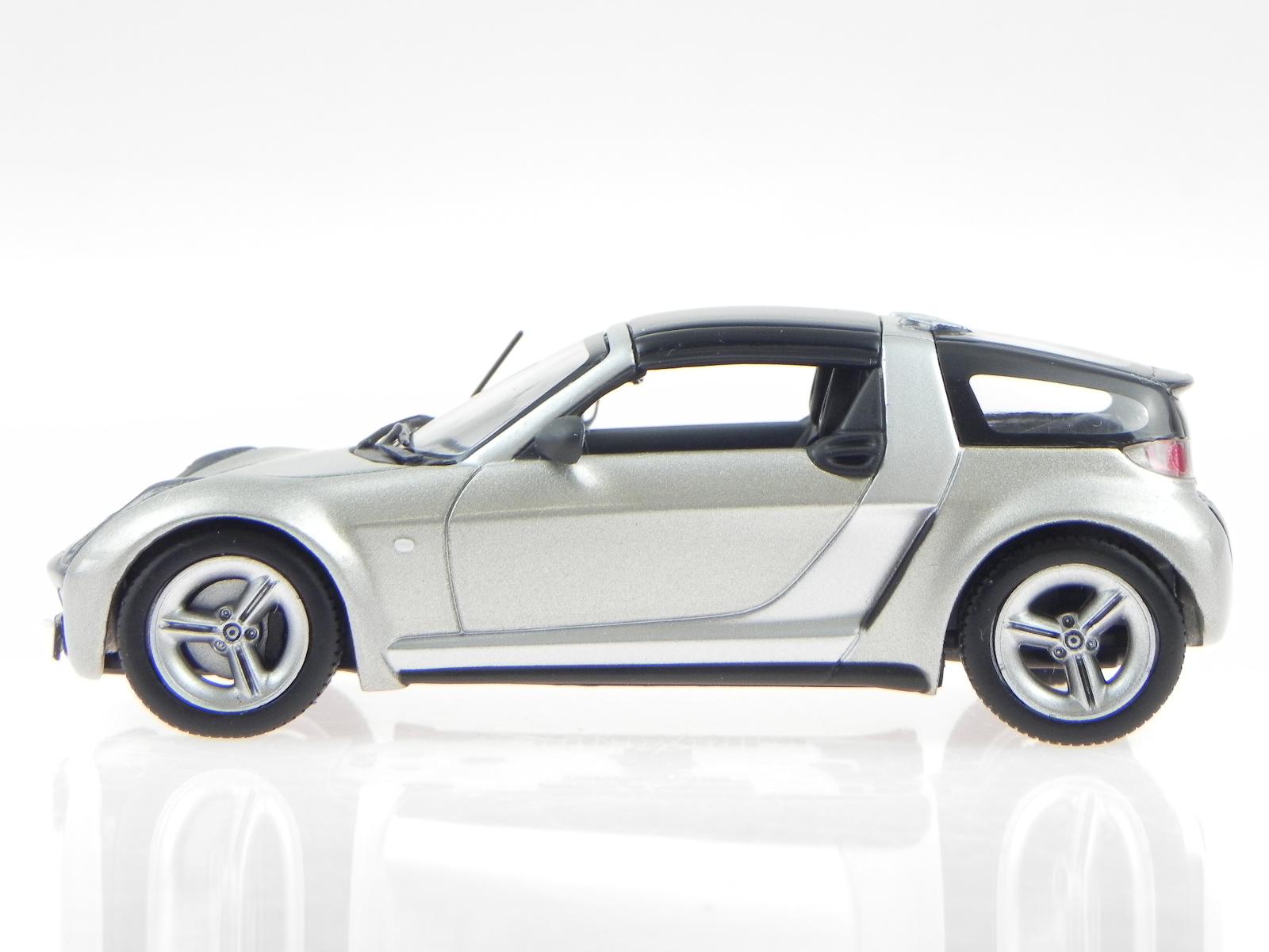 smart roadster coupe grey 2003 modelcar 400032121. Black Bedroom Furniture Sets. Home Design Ideas