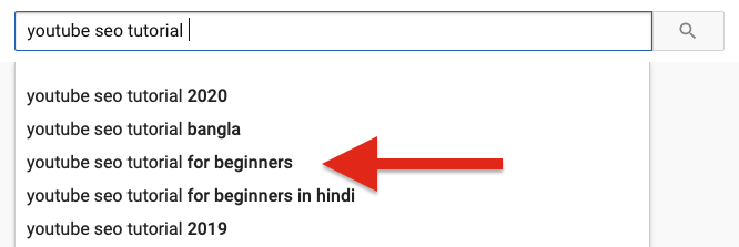 Verify Search Term On YouTube