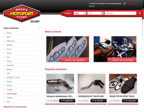 Onderdelen webshop MotoPort Zelhem