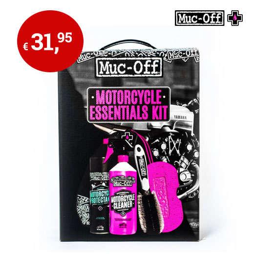 Muc-off bike essential kit - MotoPort.n