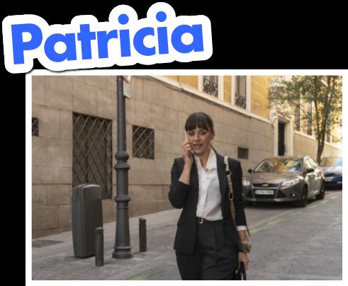 Patricia, Interpretada por Miren Ibarguren