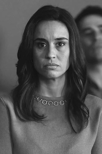 Marisé Álvarez es Tanya Quiñones en En el corredor de la muerte