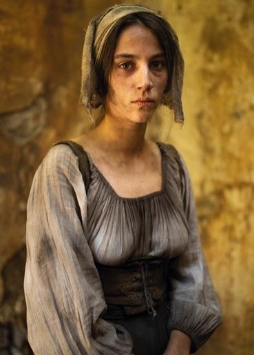 Claudia Salas interpreta a Escalante en La Peste, la mano de laGarduña
