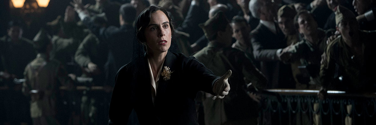 Mireia Rey es Carmen Polo en 'Mientras dure la guerra' de Movistar+