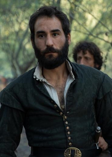 Jesús Carroza interpreta a Baeza en La Peste, la mano de laGarduña