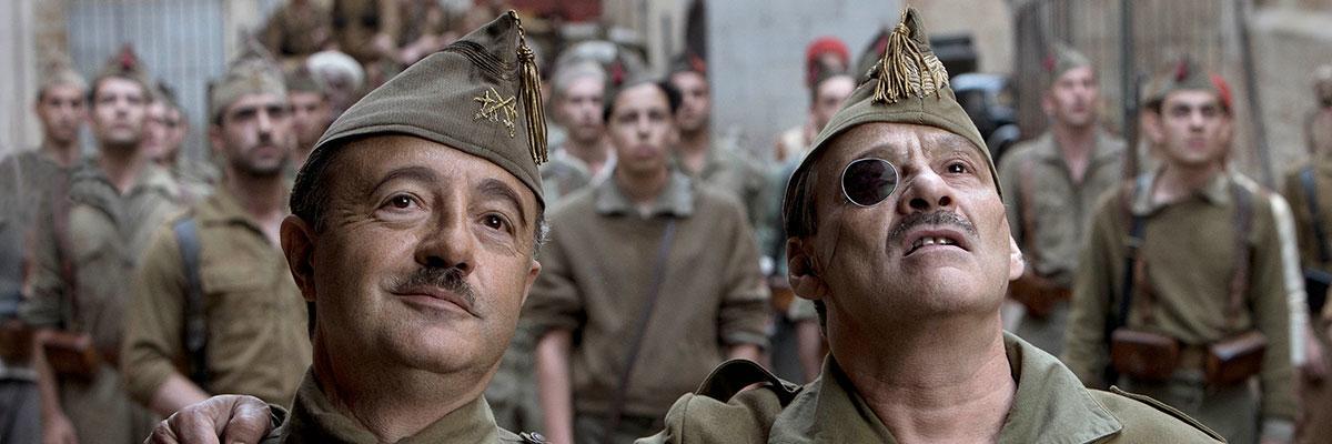 Santi Prego es Francisco Franco en 'Mientras dure la guerra' de Movistar+