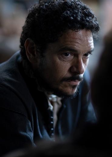 Pablo Molinero interpreta a Mateo en La Peste, la mano de laGarduña