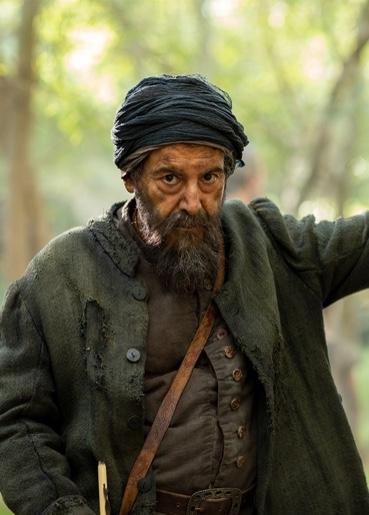 Manuel Morón interpreta a Arquímedes en La Peste, la mano de laGarduña