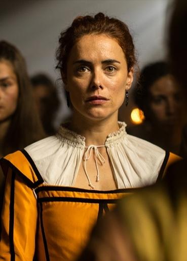 Patricia López Arnaiz es Teresa Pinelo en La Peste