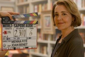 María Pujalte en la presentación spin-off Merlí: Sapere Aude