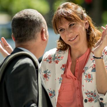 Javier Gutiérrez y Malena Alterio