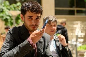 David Solans en la presentación spin-off Merlí: Sapere Aude