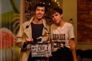 Pablo Capuz y Azul Fernández presentación spin-off de Merlí