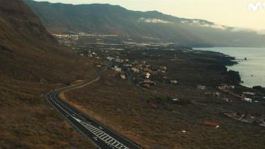Escena de la isla en Hierro serie de Movistar+