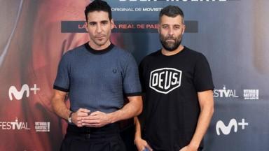 Miguel Ángel Silvestre y Nacho Carretero| 'El corredor de la muerte' de Movistar+