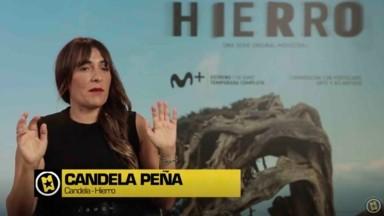 Candela Peña entrevista sobre Hierro