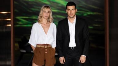 Mario Casas con Ingrid García-Jonsson