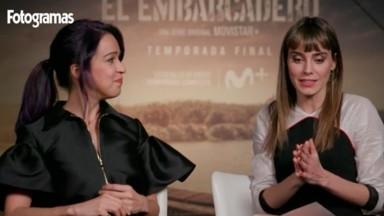 Irene Arcos y Verónica Sánchez en El Embarcadero de Originales Movistar+