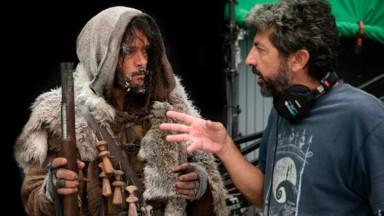 Alberto Rodríguez en el Rodaje de la segunda temporada de La Peste de Movistar+