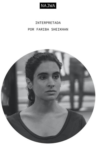 Najwa. Interpretada por Fariba Sheikhan