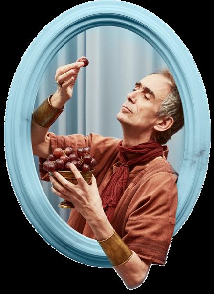 César Sarachu interpreta a Cneo Valerio en Justo antes de Cristo de Movistar+