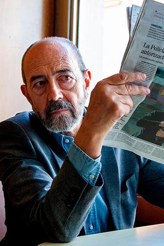 Miguel Rellán en Vergüenza de Originales Movistar+