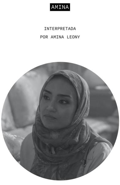 Amina. Interpretada por Amina Leony