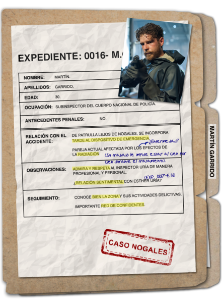 Interpretado por Álvaro Cervantes