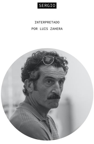Sergio. Interpretado por Luis Zahera