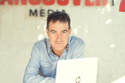 Alex Pina creador de El Embarcadero de Movistar+