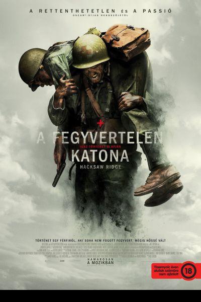 A fegyvertelen katona – Plakát