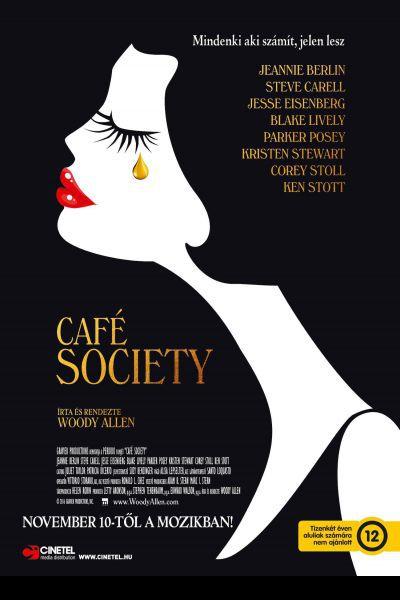 Café Society – Plakát