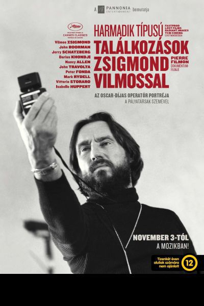 Harmadik típusú találkozások Zsigmond Vilmossal – Plakát