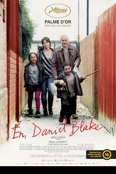 Én, Daniel Blake – Plakát