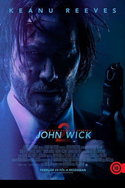 John Wick: 2. felvonás – Plakát