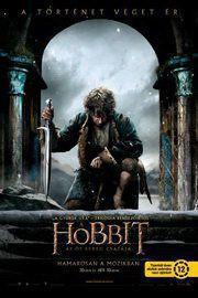 A hobbit: Az öt sereg csatája – Plakát