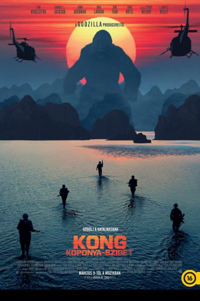 Kong: Koponya-sziget – Plakát