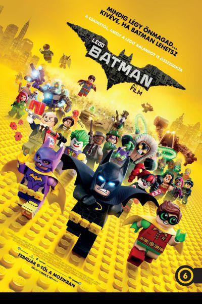 Lego Batman - A film – Plakát