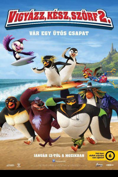 Vigyázz, kész, szörf! 2 – Plakát