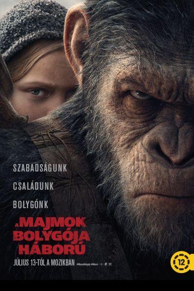 A majmok bolygója: Háború – Plakát