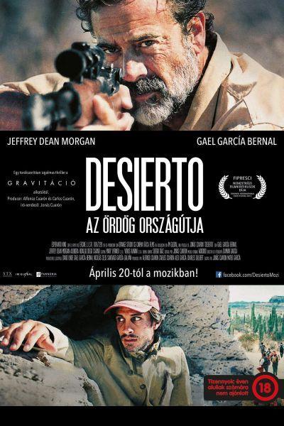 Desierto - Az ördög országútja – Plakát