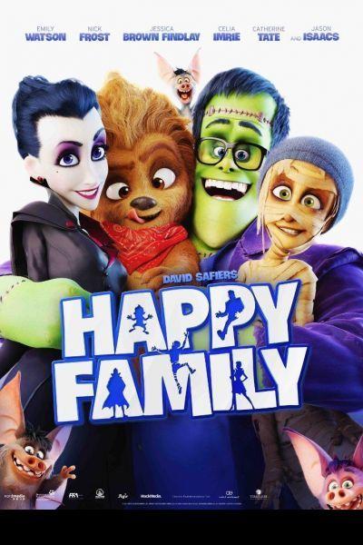 Szörnyen boldog család – Plakát