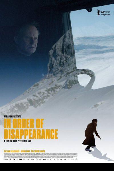 Az eltűnés sorrendjében – Plakát