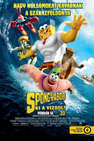 SpongyaBob: Ki a vízből! – Plakát